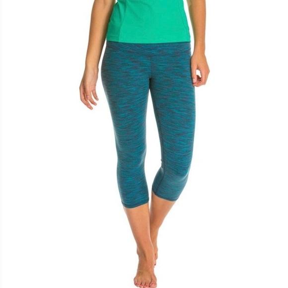 Alo Yoga Airbrushed Capris Cropped Leggings Size L